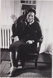 Zora Neale Hurston in Chair Waiving 10-11-2011
