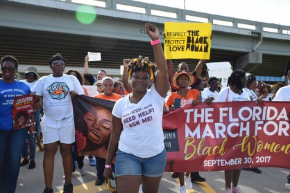 Florida March For Black Women 2